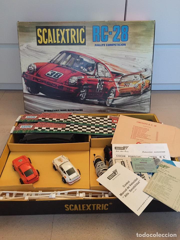 Circuito Rc : Scalextric exin circuito rc 28 sold through direct sale 87185400