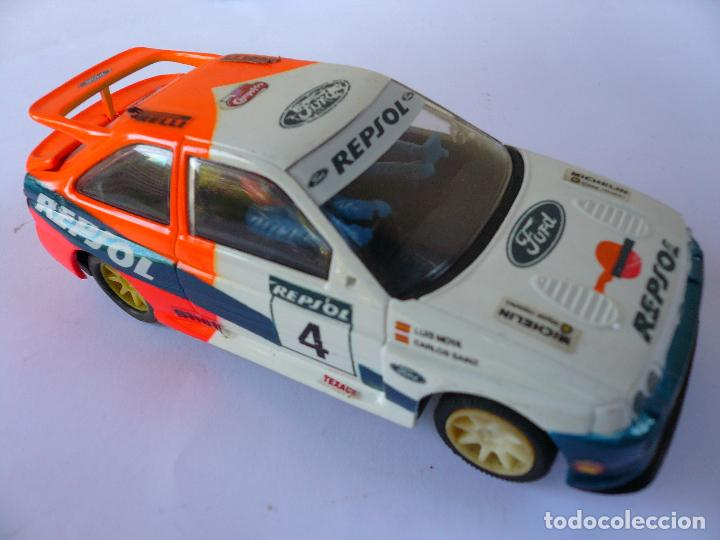 COCHE SCALEXTRIC FORD ESCORT RS - MADE IN ENGLAND (Juguetes - Slot Cars - Scalextric Exin)
