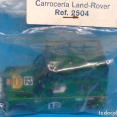 Scalextric: BLISTER STS EXIN SCALEXTRIC CARROCERIA LAND ROVER VERDE #12 4X4 NUEVO. Lote 58246799