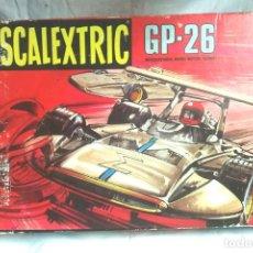 Scalextric: SCALEXTRIC GP-26 DE EXIN, CON 2 COCHES SIGMA AMARILLO Y NARANJA REF C 47. Lote 89479600