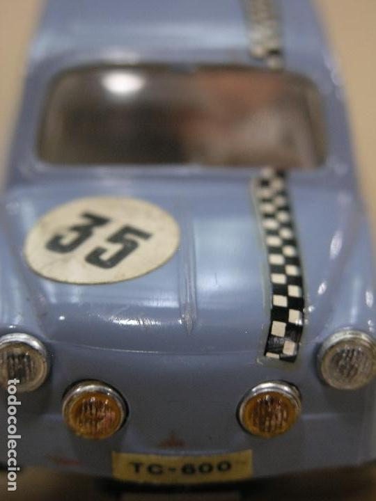 SEAT 600 TC SCALEXTRIC TRIANG EXIN AZUL (Juguetes - Slot Cars - Scalextric Exin)