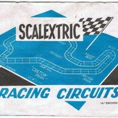 Scalextric: SCALEXTRIC. RACING CIRCUITS. CIRCUITOS COMPLETOS. 14ª EDICIÓN. Lote 90654120