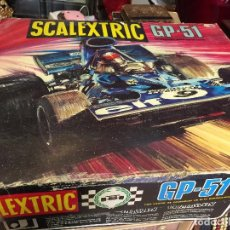 Scalextric: CAJA SCALEXTRIC GP - 51. EXIN. MUY COMPLETO. Lote 93650225