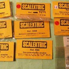 Scalextric: SCALEXTRIC EXIN ORIGINAL: LOTE DE BLISTER VACIOS. MUY BUEN ESTADO. Lote 93816960