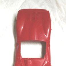 Scalextric: CARROCERIA FERRARI GT 330 ROJO SCALEXTRIC DE EXIN, ORIGINAL BUEN ESTADO. Lote 94426002