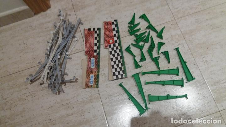 LOTE DE VALLAS SCALEXTRIC EXIN (Juguetes - Slot Cars - Scalextric Exin)