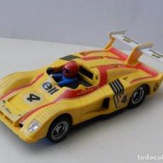 Scalextric: SCALEXTRIC ALPINE RENAULT 2000 TURBO REF. 4053 AMARILLO 1976 MADE IN SPAIN SLOT CAR COCHE F1 4 ELF. Lote 95195167