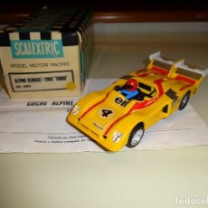 Scalextric - Scalextric. Exin. Renault Alpine 2000 turbo amarillo. Ref. 4053 - 97007559