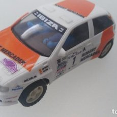Scalextric: COCHE DE SCALEXTRIC SEAT IBIZA. Lote 97694991