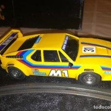 Scalextric: SCALEXTRIC - BMW M1 - AMARILLO - REF. 4063-4064 - MUY BUENO - COMO NUEVO. Lote 97961051
