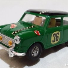 Scalextric: MINI COOPER VERDE EXIN C-45 (1970) CON CAJA ORIGINAL. Lote 98014571