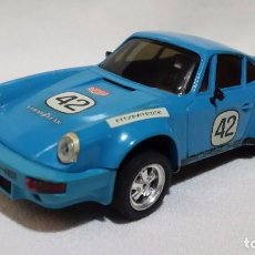 Scalextric: PORSCHE CARRERA RS AZUL -MADE IN MEXICO- REFª 5551 C39. Lote 98016439
