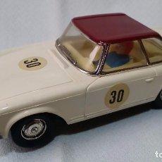 Scalextric: MERCEDES 250 SL #30 BLANCO CAPOTA GRANATE EXIN C-32 (1967) /C39/. Lote 98020879