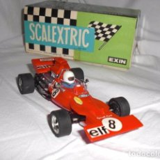 Scalextric: SCALEXTRIC TYRELL FORD FORMULA 1 REF. 4048 ROJO. Lote 98089007