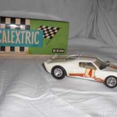 Scalextric: COCHE SCALEXTRIC FORD G.T REF. 4035 BLANCO. Lote 98089215