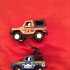 Scalextric: COCHES STS 4X4,AZUL Y ROJO O NARANJA. Lote 98253499