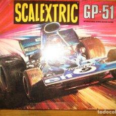 Scalextric: SCALEXTRIC EXIN CIRCUITO GP 51 CON CAJA ORIGINAL COCHES INSTRUCCIONES MANDOS DOCUMENTACION MANDOS. Lote 98440995
