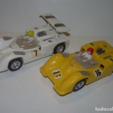 Scalextric: DOS COCHES SCALEXTRIC....CHAPARRAL GT...REF. C-40.. Lote 98566963
