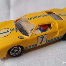 Scalextric: FORD GT #7 AMARILLO - EXIN C-35 (1968) /C5/. Lote 98662823