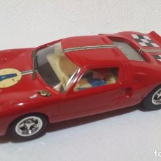 Scalextric: FORD GT ROJO OSCURO #4 * EXIN C-35 (1968) /C2/. Lote 98691483