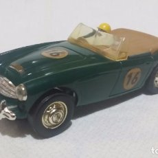 Scalextric: AUSTIN HEALEY 3000 VERDE * EXIN CF-GT (1966) C-74 MADE IN ENGLAND /C2/. Lote 98695475