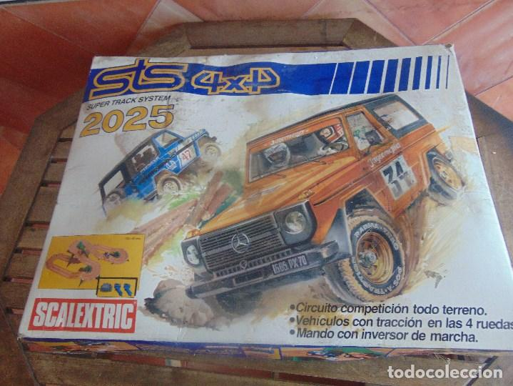 CIRCUITO STS 4X4 SUPER TRACK SYSTEM 2025 DESCALEXTRIC EXIN CON 3 COCHES (Juguetes - Slot Cars - Scalextric Exin)