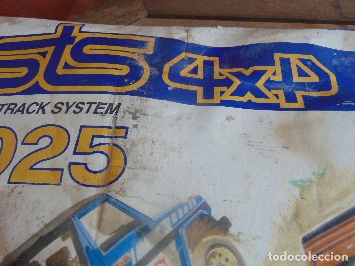 Scalextric: CIRCUITO STS 4X4 SUPER TRACK SYSTEM 2025 DESCALEXTRIC EXIN CON 3 COCHES - Foto 2 - 99547167