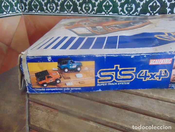 Scalextric: CIRCUITO STS 4X4 SUPER TRACK SYSTEM 2025 DESCALEXTRIC EXIN CON 3 COCHES - Foto 11 - 99547167