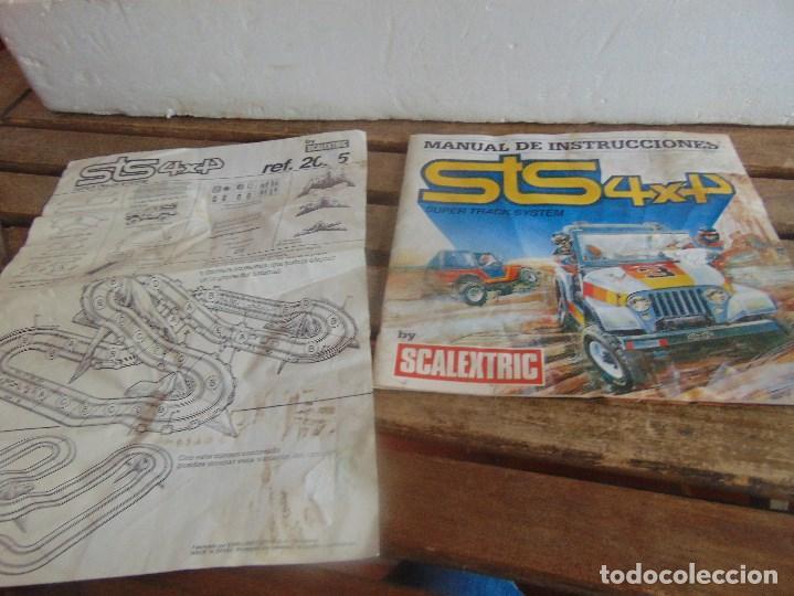 Scalextric: CIRCUITO STS 4X4 SUPER TRACK SYSTEM 2025 DESCALEXTRIC EXIN CON 3 COCHES - Foto 18 - 99547167
