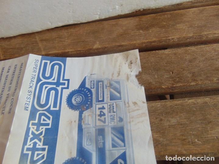 Scalextric: CIRCUITO STS 4X4 SUPER TRACK SYSTEM 2025 DESCALEXTRIC EXIN CON 3 COCHES - Foto 23 - 99547167