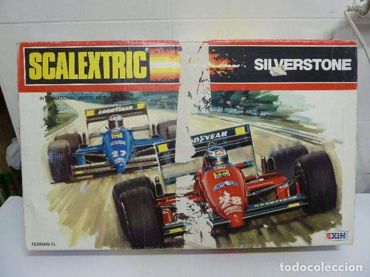 CIRCUITO - SCALEXTRIC SILVERSTONE - EXIN (Juguetes - Slot Cars - Scalextric Exin)