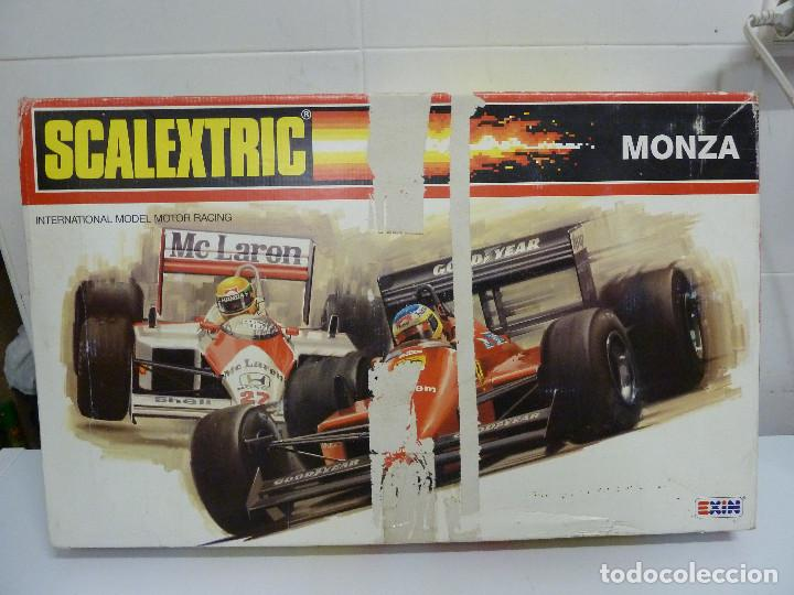 CIRCUITO - SCALEXTRIC MONZA - EXIN (Juguetes - Slot Cars - Scalextric Exin)