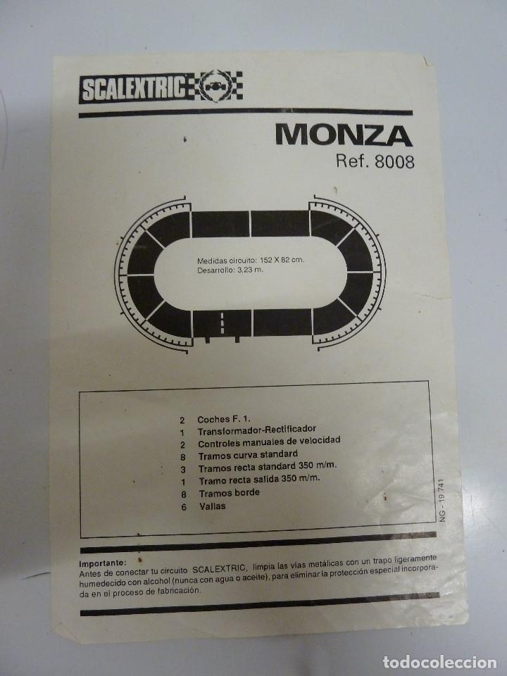 Scalextric: CIRCUITO - SCALEXTRIC MONZA - EXIN - Foto 21 - 100339851