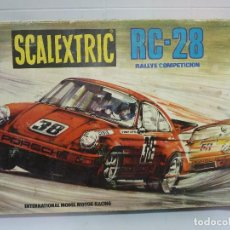 Scalextric: CIRCUITO - SCALEXTRIC RC 28 - EXIN. Lote 117138727