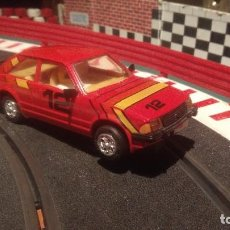Scalextric: FORD ESCORT DE SCALEXTRIC, MADE IN ENGLAND. Lote 100979799