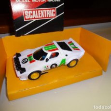 Scalextric: SCALEXTRIC. EXIN. LANCIA STRATOS BLANCO. REF. 4055. Lote 101005979