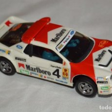 Scalextric: FORD RS 200 - BLANCO MARLBORO - MUY BUEN ESTADO - MADE IN SPAIN - EXIN - RARO. Lote 101091671