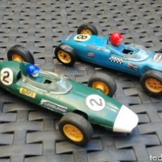 Scalextric: LOTUS Y BRM F1 INGLESES SCALEXTRIC TRIANG. Lote 101190623