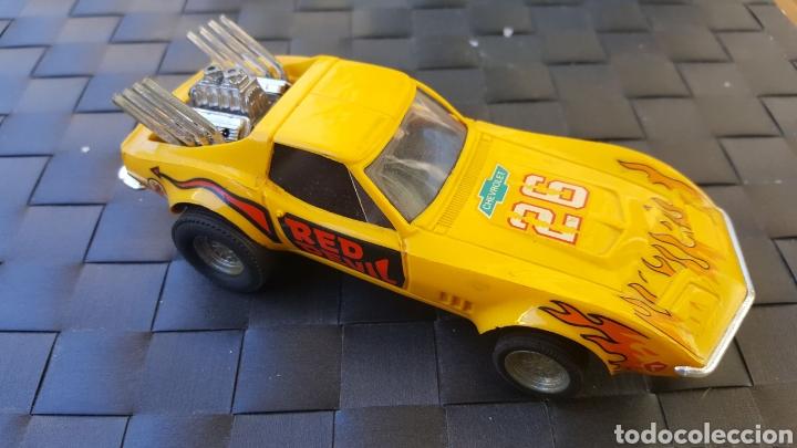 CHEVROLET CORVETTE DRAGSTER EXIN (Juguetes - Slot Cars - Scalextric Exin)