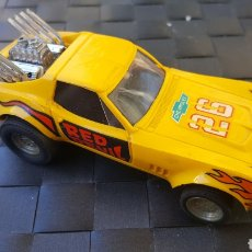 Scalextric: CHEVROLET CORVETTE DRAGSTER EXIN. Lote 101529887