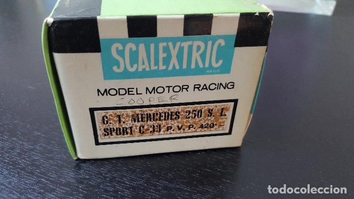Scalextric: MERCEDES 250 SL SPORT EXIN - Foto 8 - 26449475