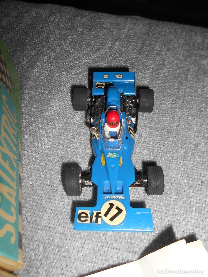 Scalextric: Coche scalextric Tyrrell-Ford form.1 4048 azul con caja e instrucciones ORIGINAL - Foto 2 - 102297483