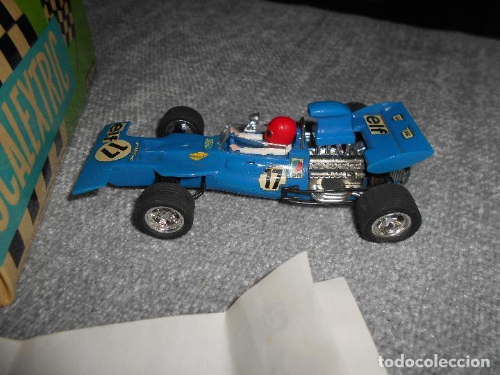 Scalextric: Coche scalextric Tyrrell-Ford form.1 4048 azul con caja e instrucciones ORIGINAL - Foto 3 - 102297483