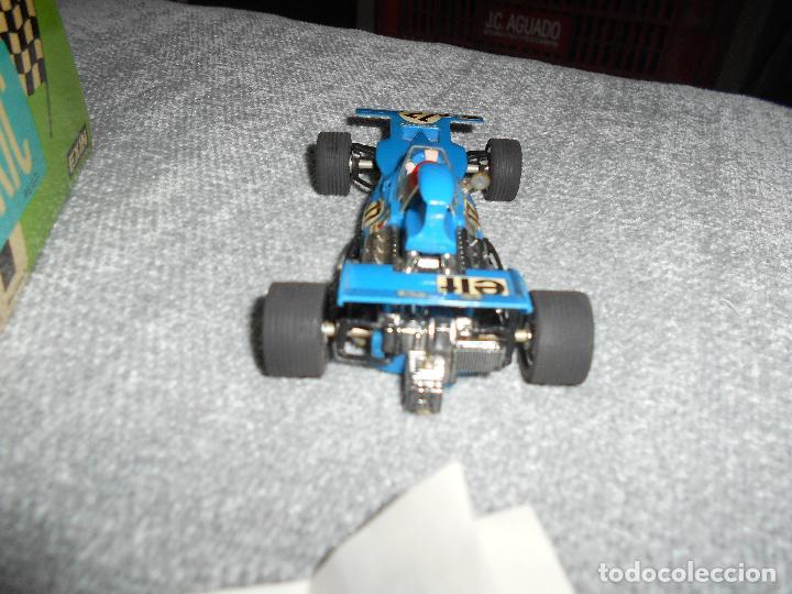 Scalextric: Coche scalextric Tyrrell-Ford form.1 4048 azul con caja e instrucciones ORIGINAL - Foto 4 - 102297483