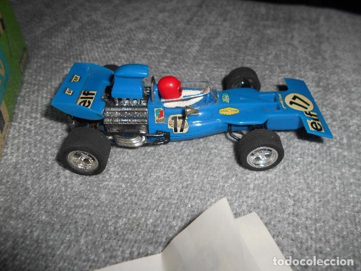 Scalextric: Coche scalextric Tyrrell-Ford form.1 4048 azul con caja e instrucciones ORIGINAL - Foto 5 - 102297483