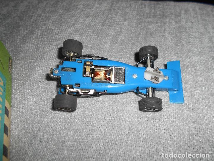 Scalextric: Coche scalextric Tyrrell-Ford form.1 4048 azul con caja e instrucciones ORIGINAL - Foto 6 - 102297483
