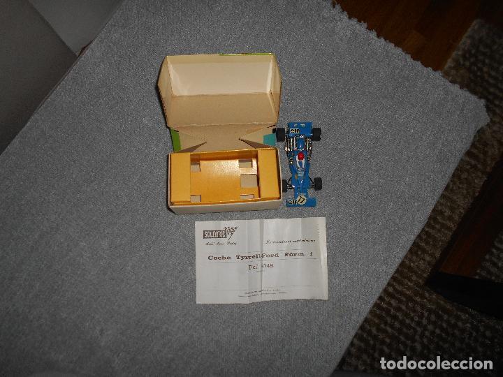 Scalextric: Coche scalextric Tyrrell-Ford form.1 4048 azul con caja e instrucciones ORIGINAL - Foto 7 - 102297483