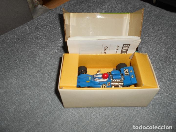 Scalextric: Coche scalextric Tyrrell-Ford form.1 4048 azul con caja e instrucciones ORIGINAL - Foto 9 - 102297483