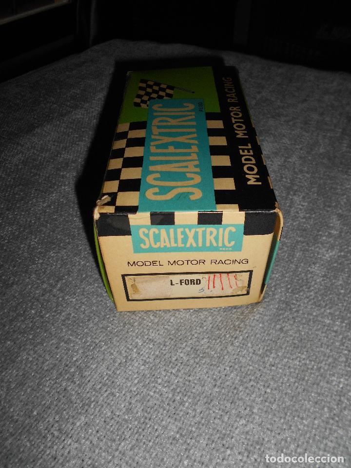 Scalextric: Coche scalextric Tyrrell-Ford form.1 4048 azul con caja e instrucciones ORIGINAL - Foto 10 - 102297483