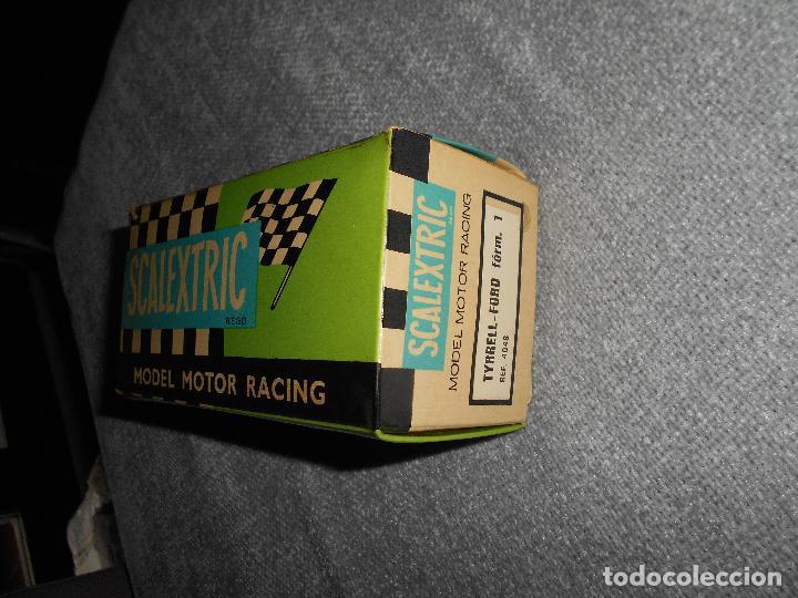Scalextric: Coche scalextric Tyrrell-Ford form.1 4048 azul con caja e instrucciones ORIGINAL - Foto 11 - 102297483